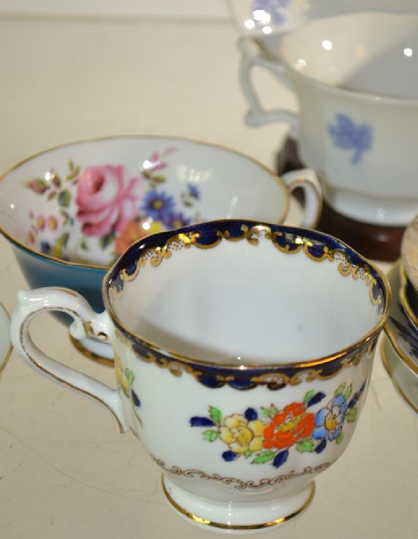 Decorative Cup and Saucer Collection - 2