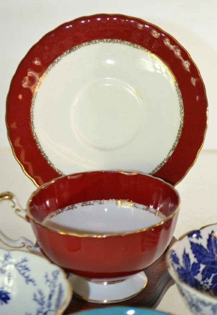 Decorative Cup and Saucer Collection - 3