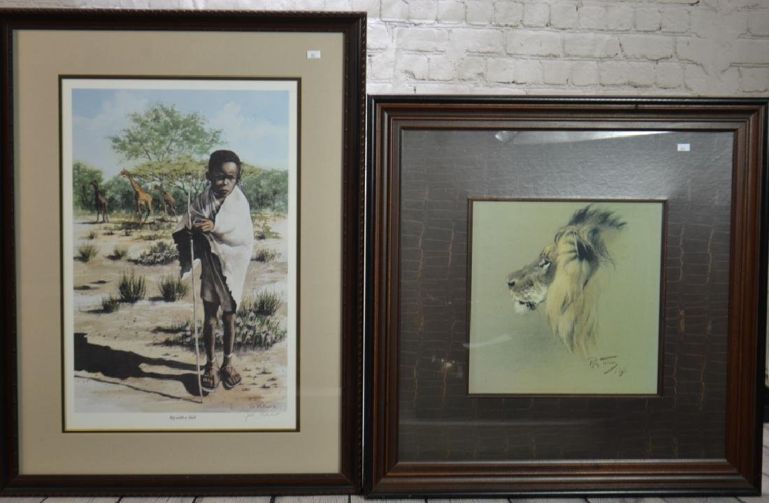 Two African Decorative Prints