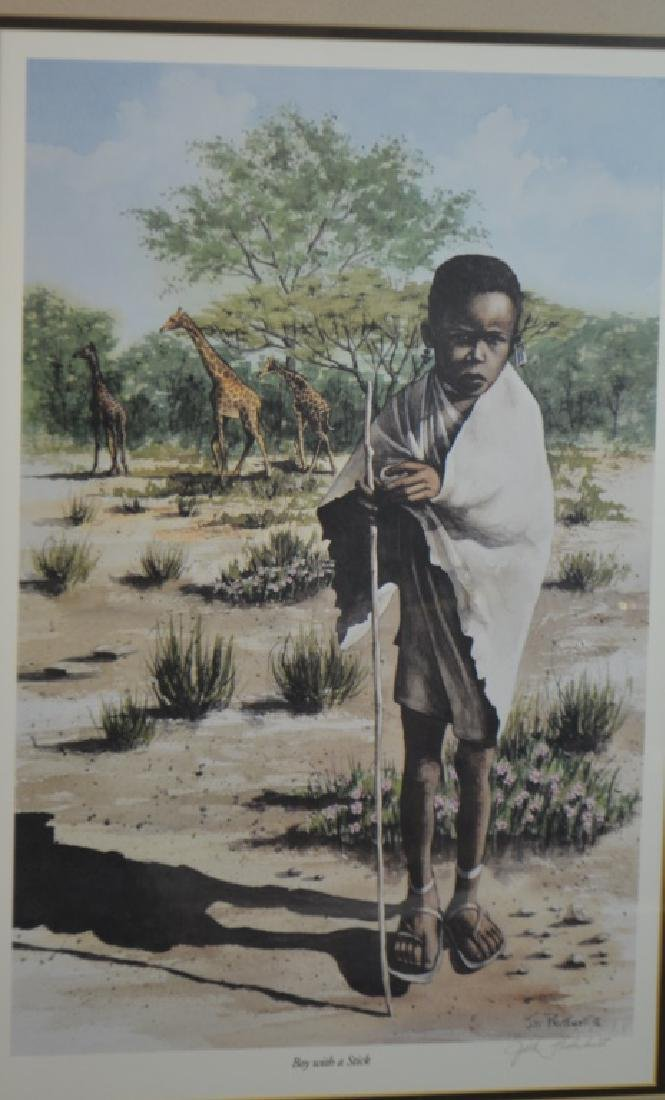 Two African Decorative Prints - 2