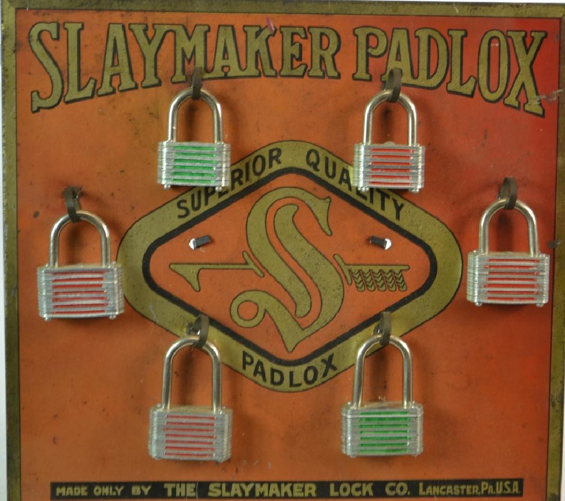 """""""Slaymaker Padlox"""" General Store Display"""