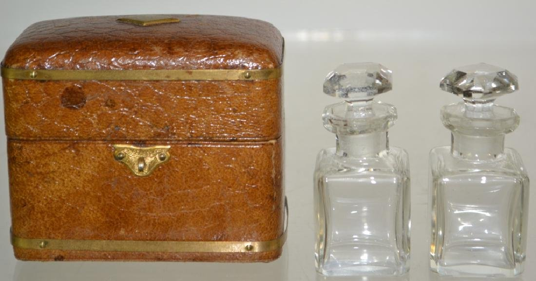 Leather Inkwell Box - 3