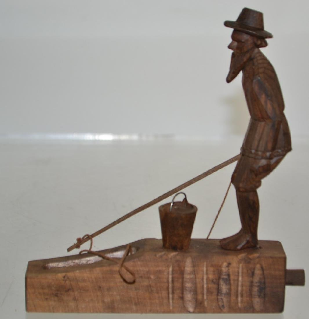 Wooden Fisherman Toy