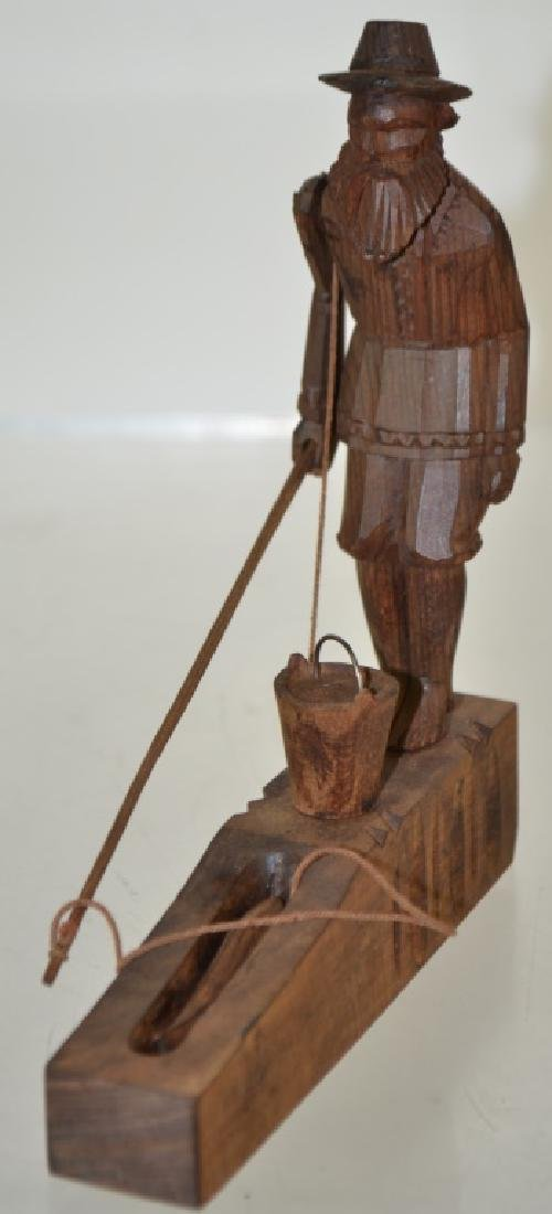 Wooden Fisherman Toy - 2