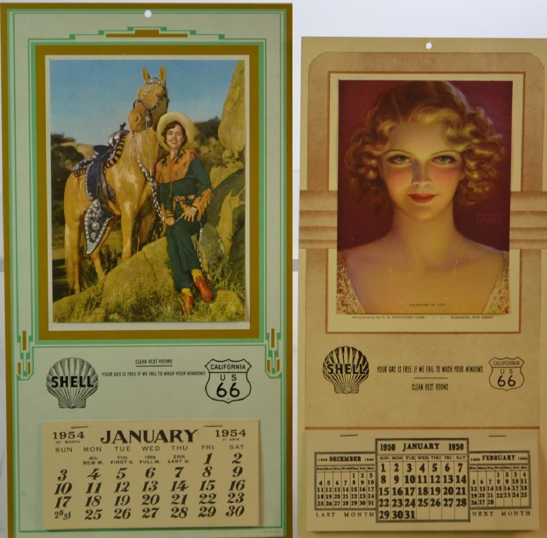 Vintage Advertising Calendars