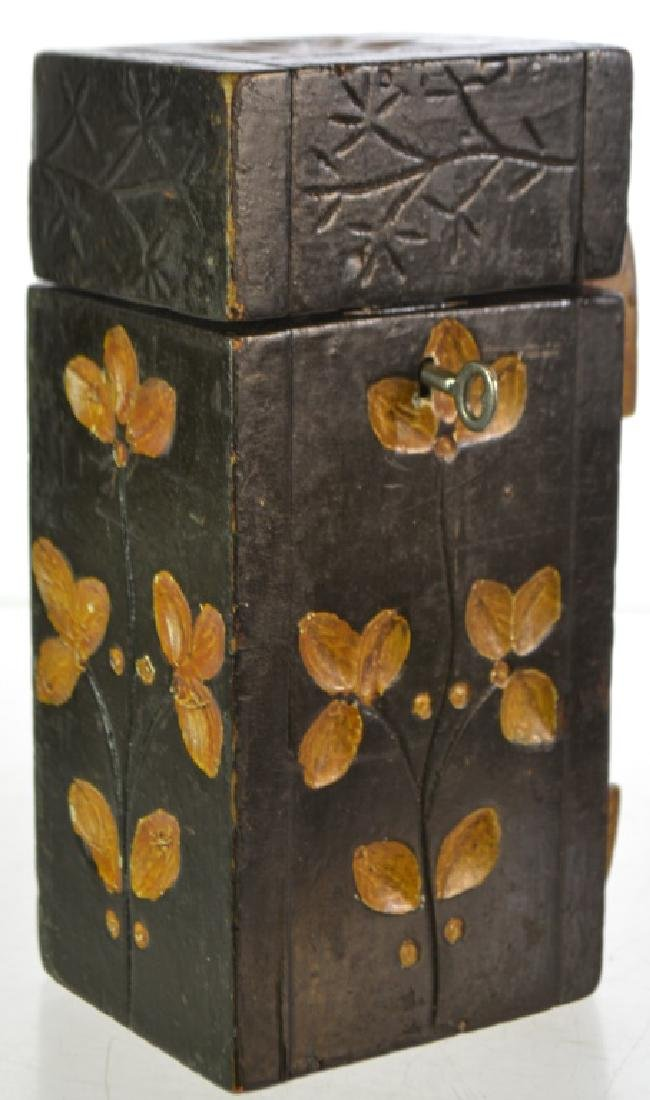 19th Century Decorative Shoe Shine Box - 2