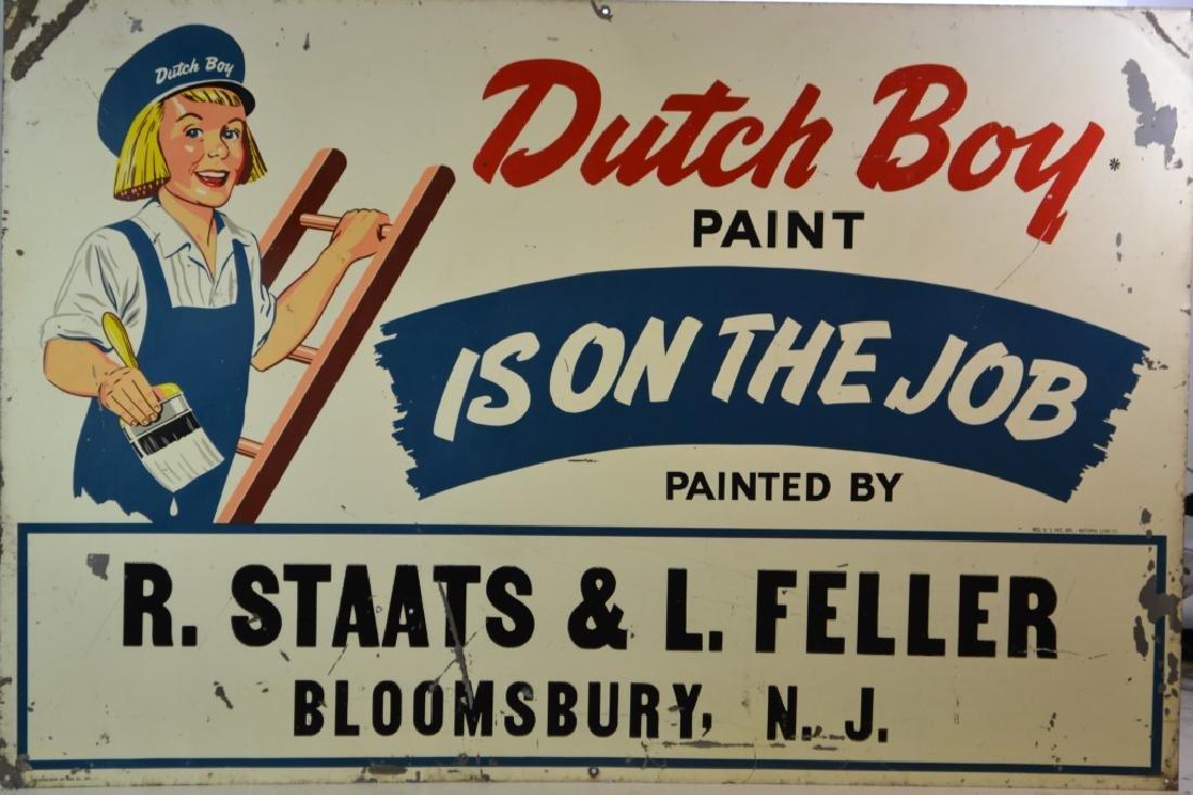 Dutchboy Paint Tin Sign