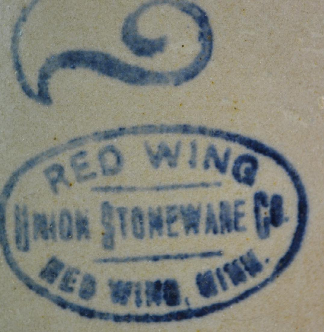 Red Wing Decorated Stoneware Crock - 2