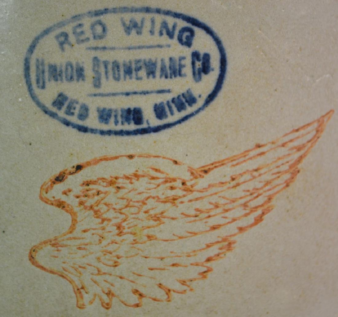Red Wing Decorated Stoneware Crock - 3