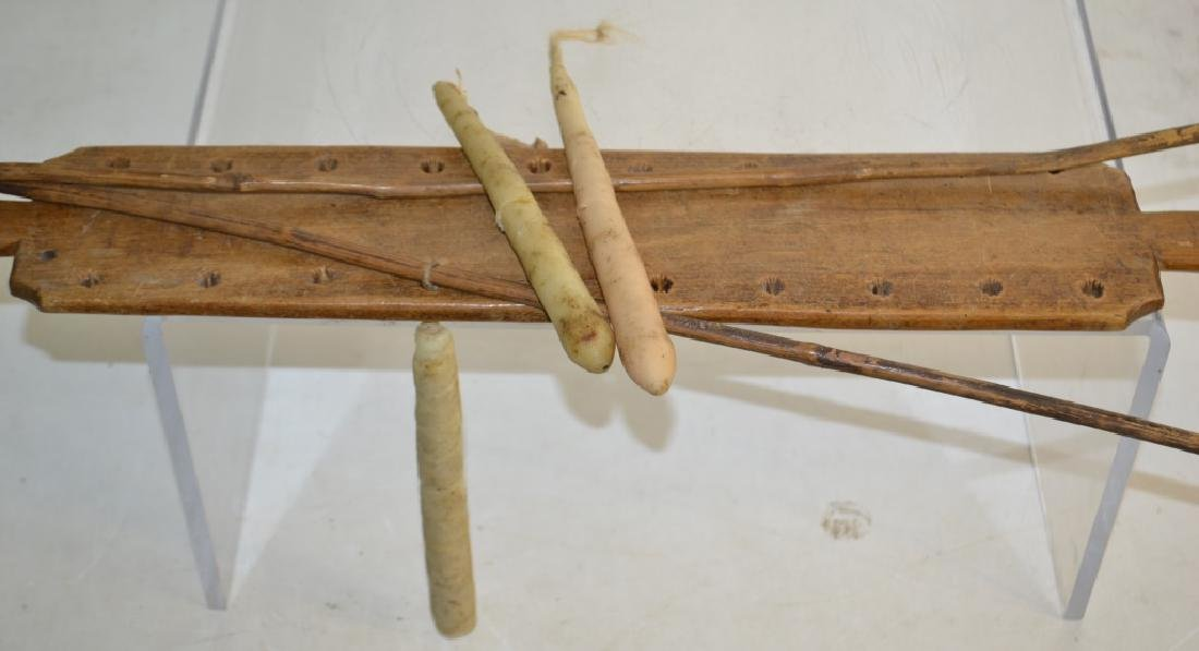 19th Century Wooden Candle Dryer