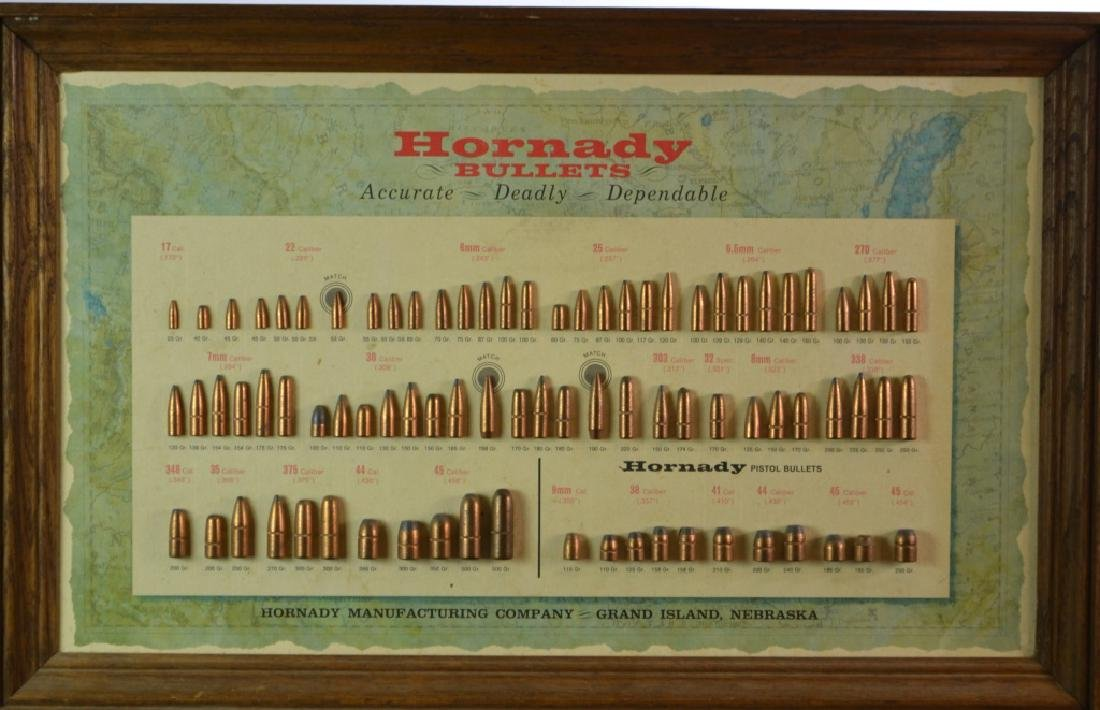 Hornady Bullet Display