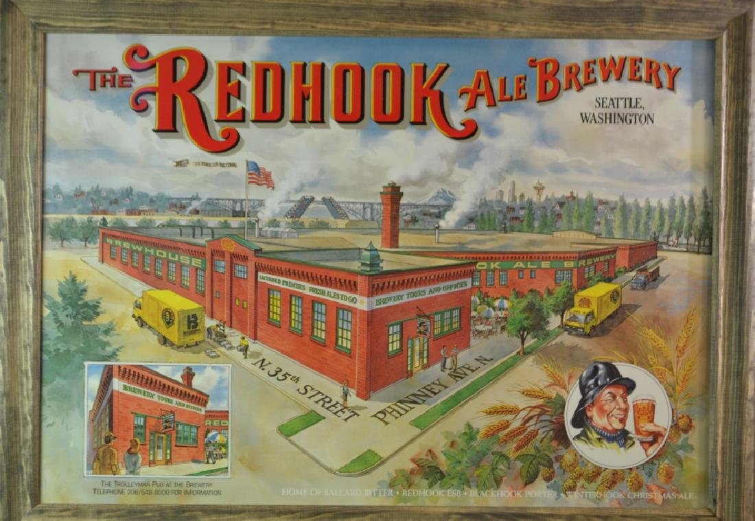 Redhook Ale Brewing Company Advertising Sign