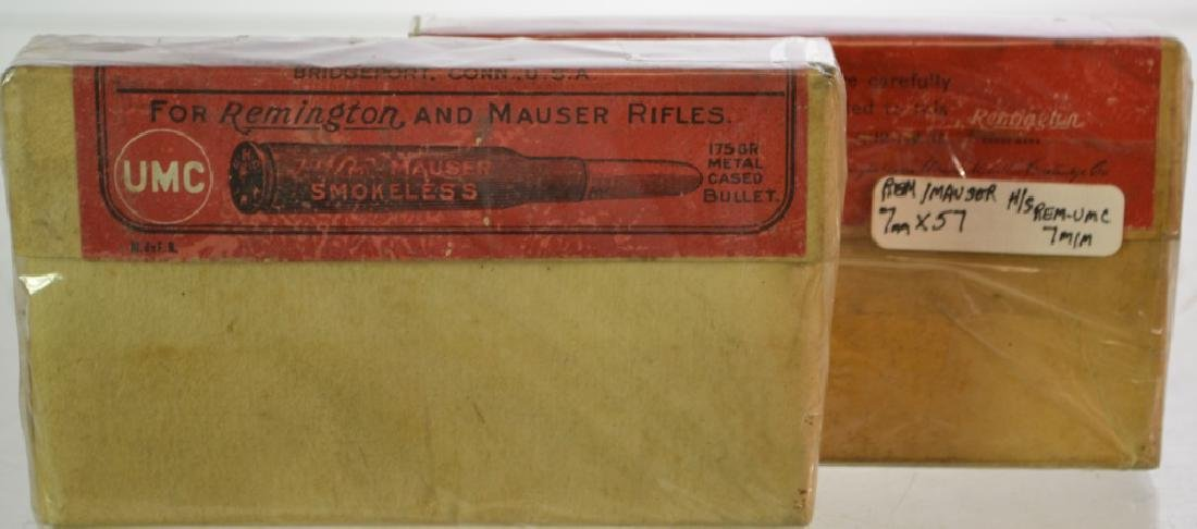 7mm Remington and Mauser Smokeless Cartridges