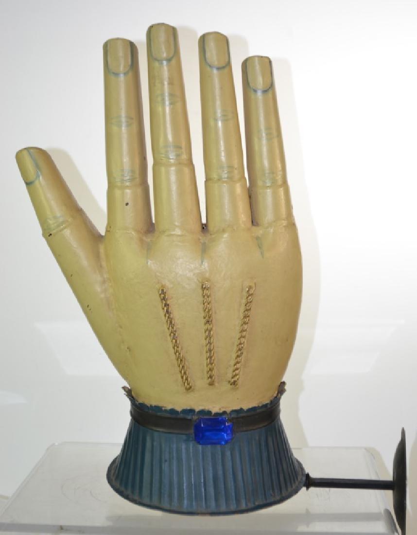 Tin Palm Reader's Trade Sign
