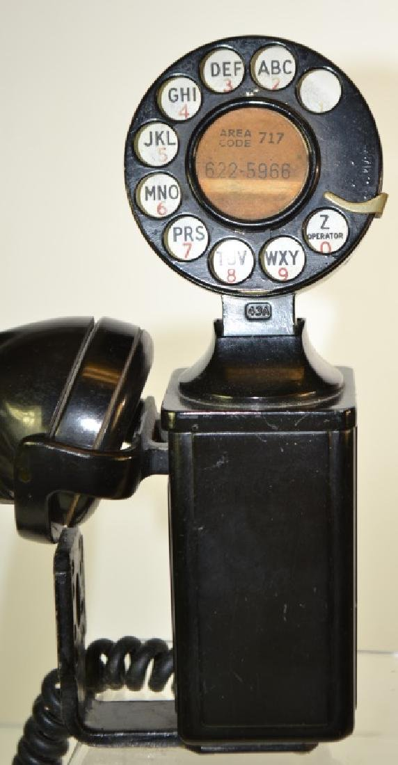 Vintage Hanging Wall Phone - 2