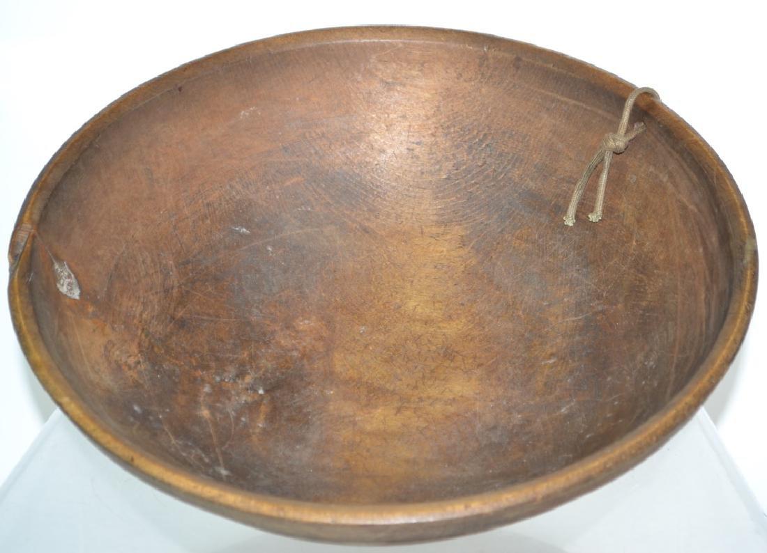 19th Century Treen Batter Bowl