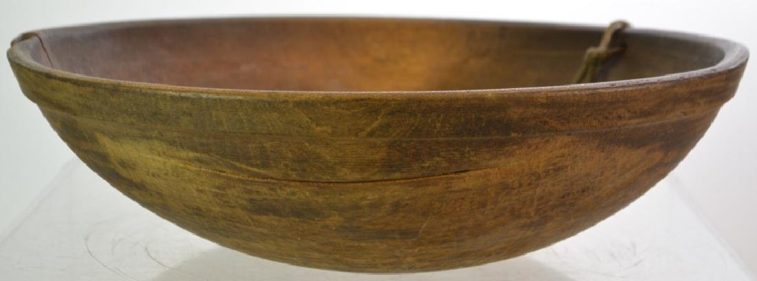 19th Century Treen Batter Bowl - 3