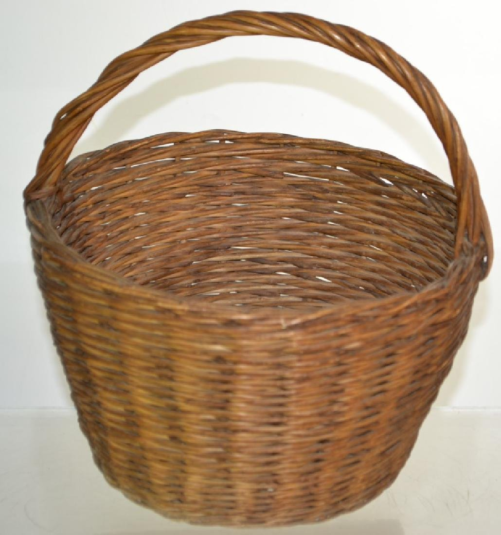 Two Vintage Egg Baskets - 3