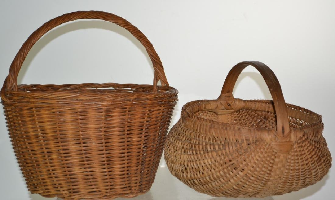 Two Vintage Baskets