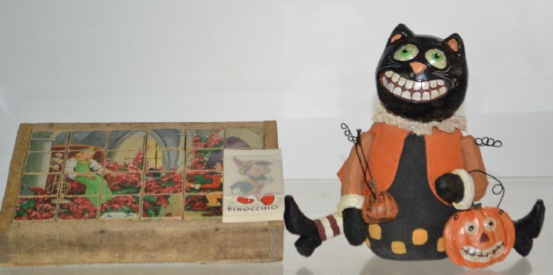 Vintage Block Puzzle and More