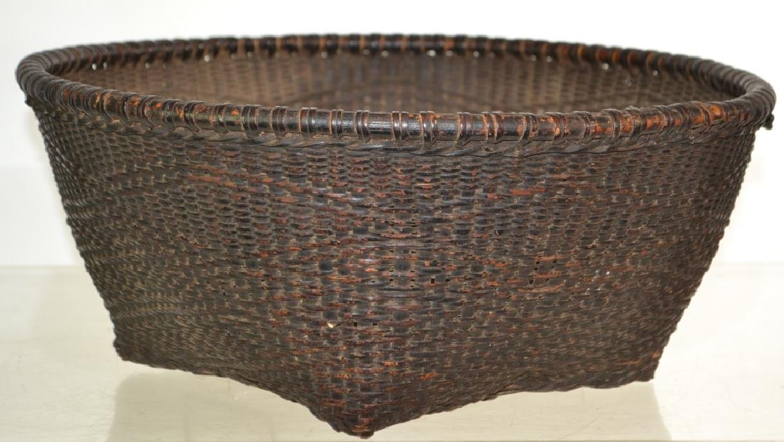 Large Native American Basket