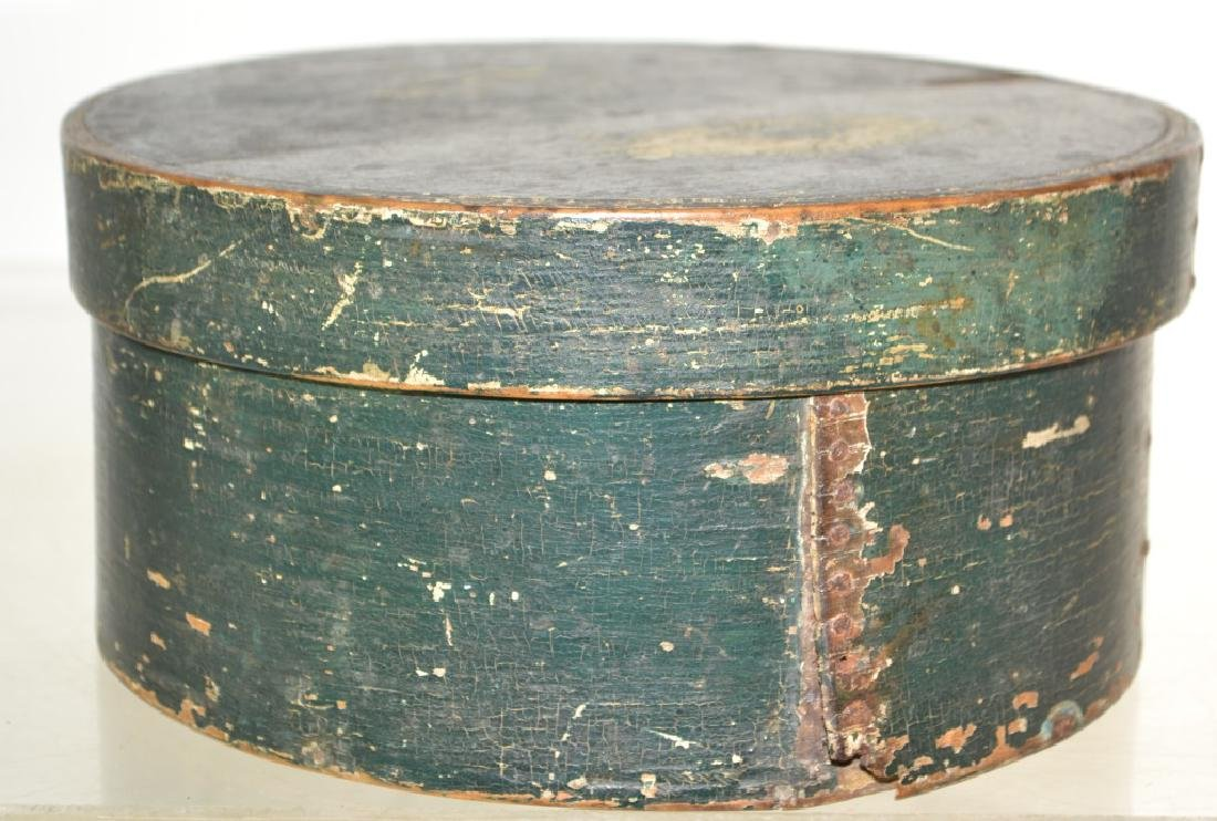 Green Painted Pantry Box