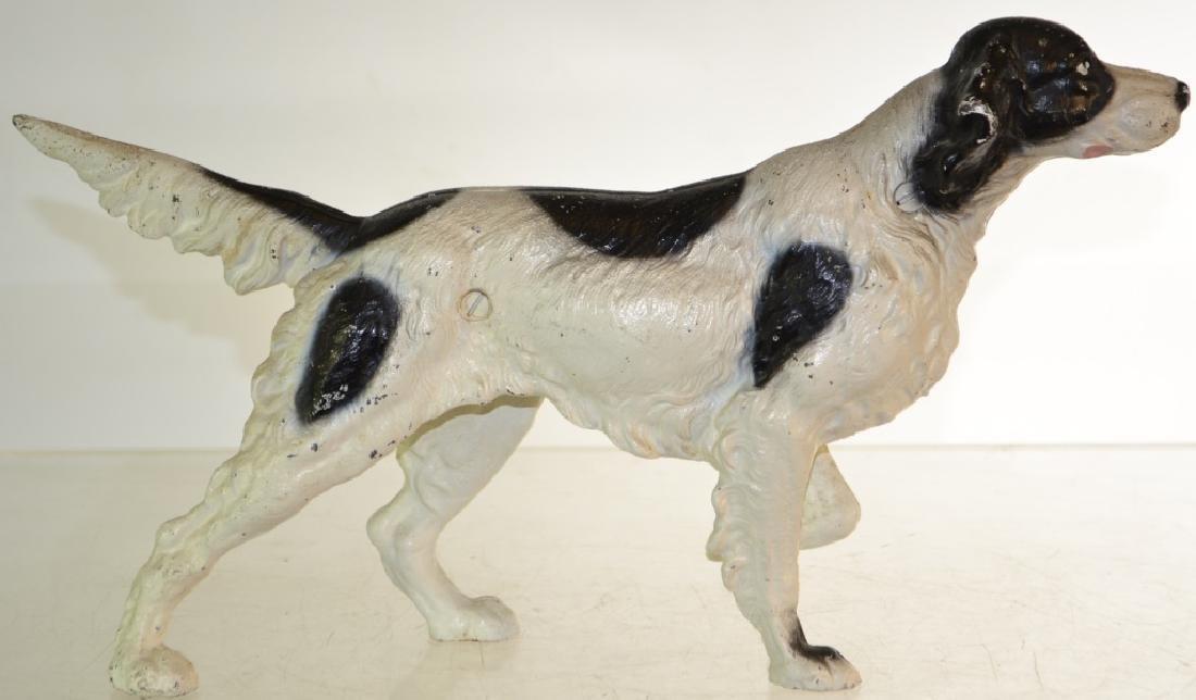 Cast Iron Pointer Dog