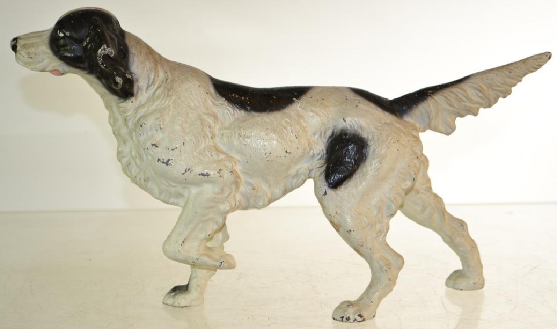 Cast Iron Pointer Dog - 2