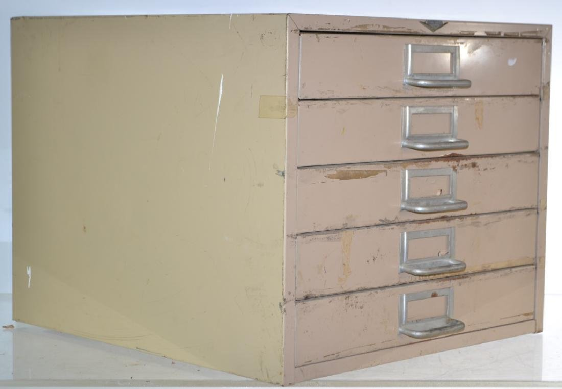 """""""Cole"""" Mid Century Table Top File - 2"""