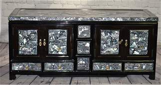 Chinese Box with Mother of Pearl Inlay