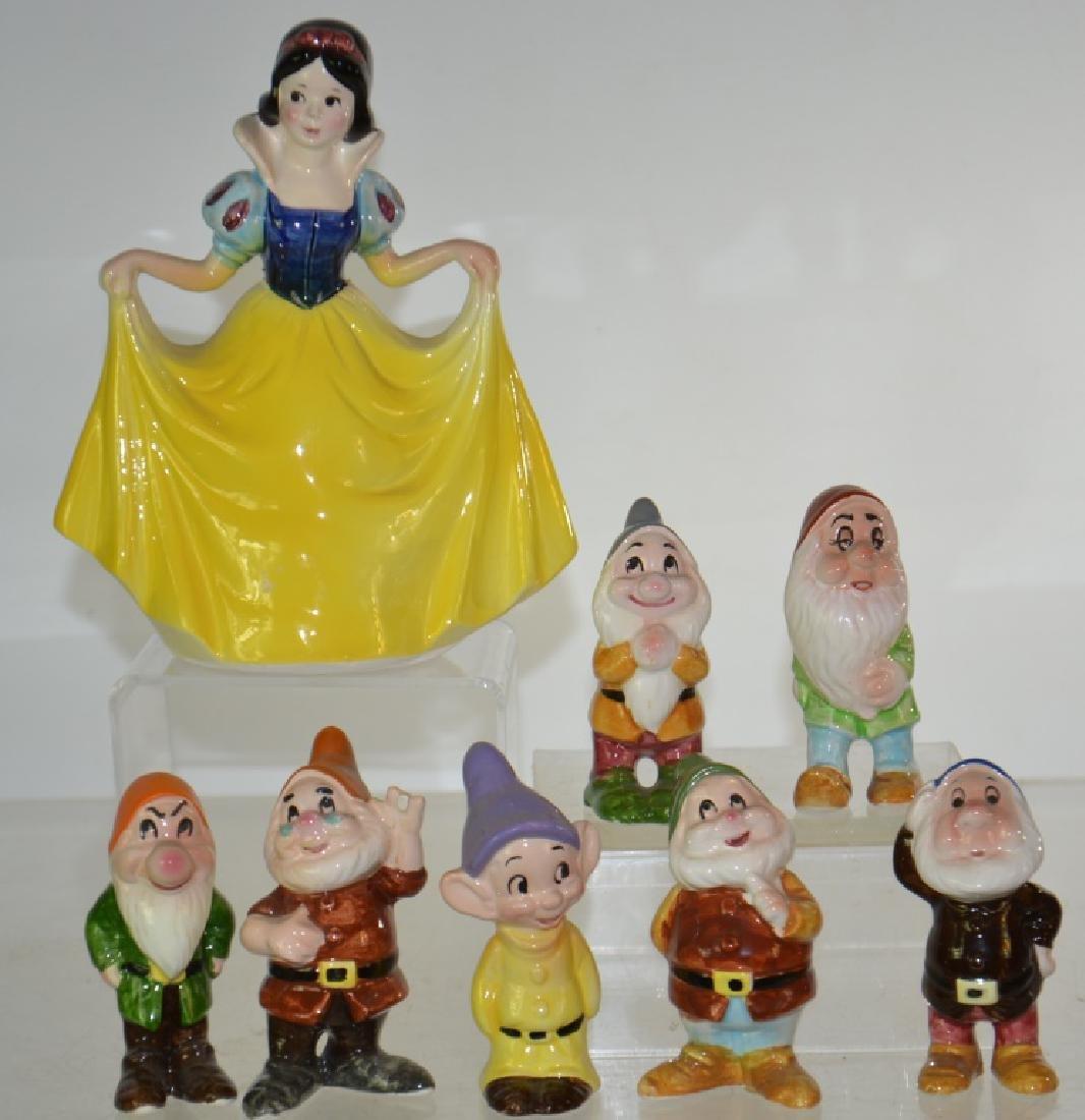 Walt Disney Snow White and Seven Dwarfs Set