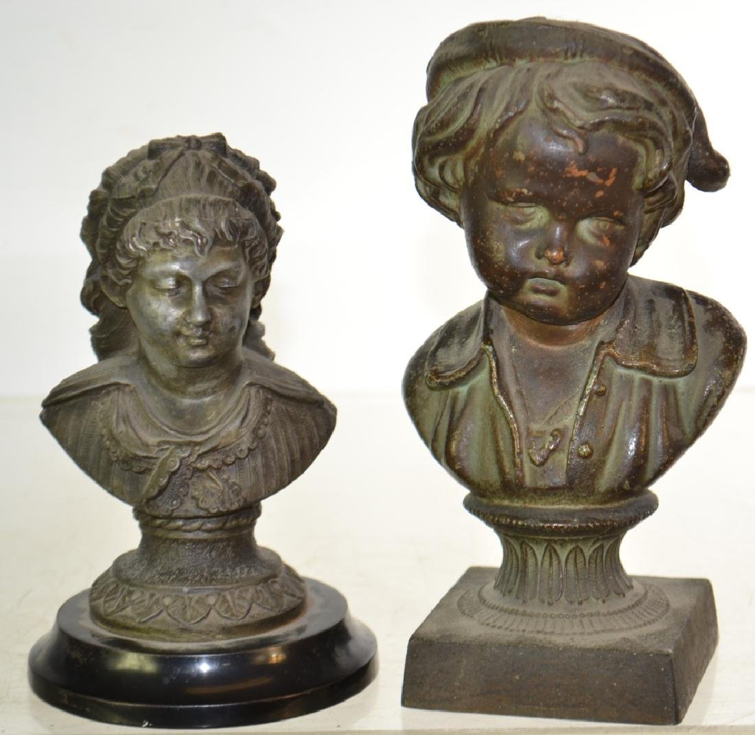 Two Busts of Children