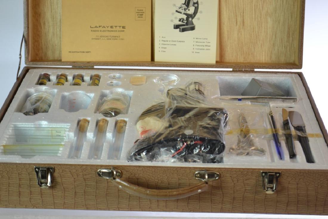 Lafayette Microscope in Case