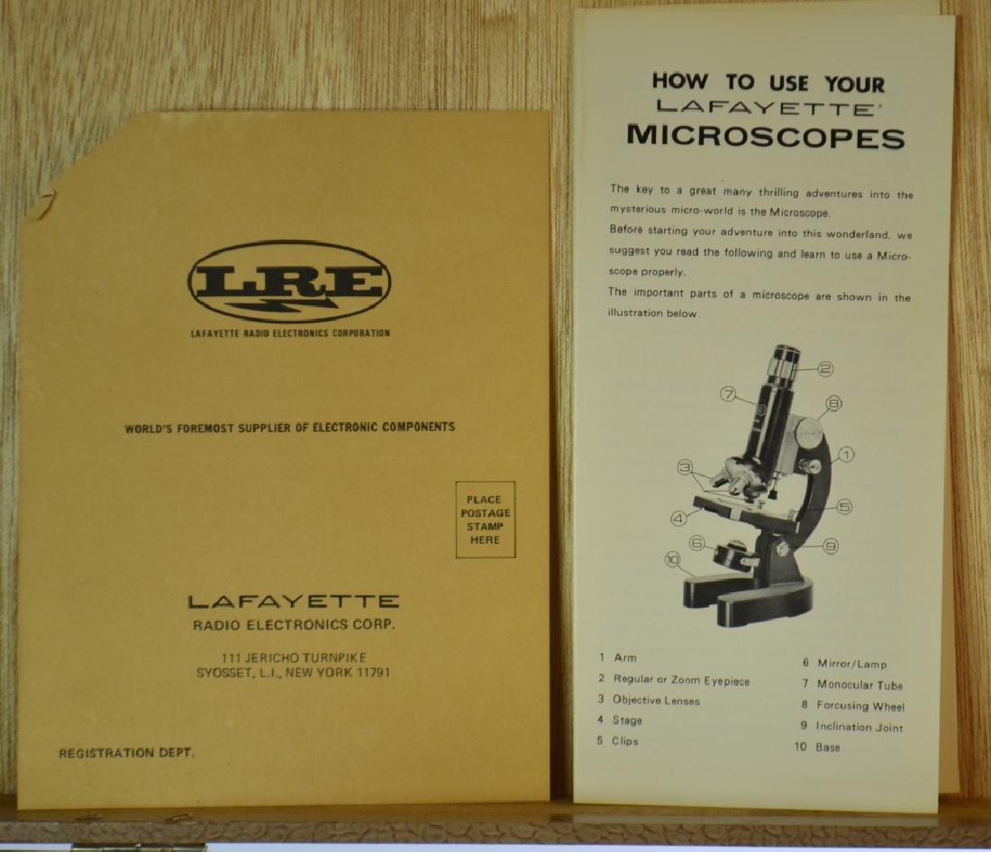 Lafayette Microscope in Case - 3