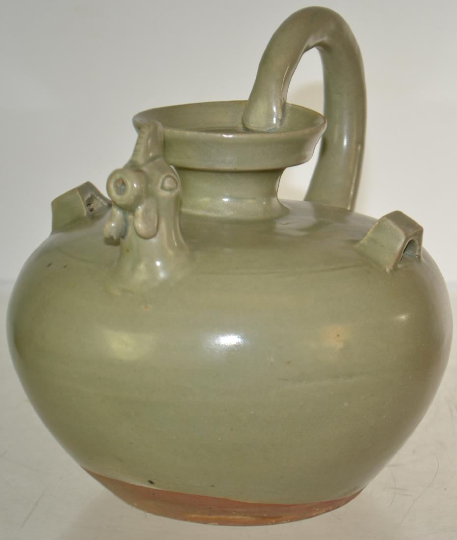 Chinese Pot with Bird Motif - 2