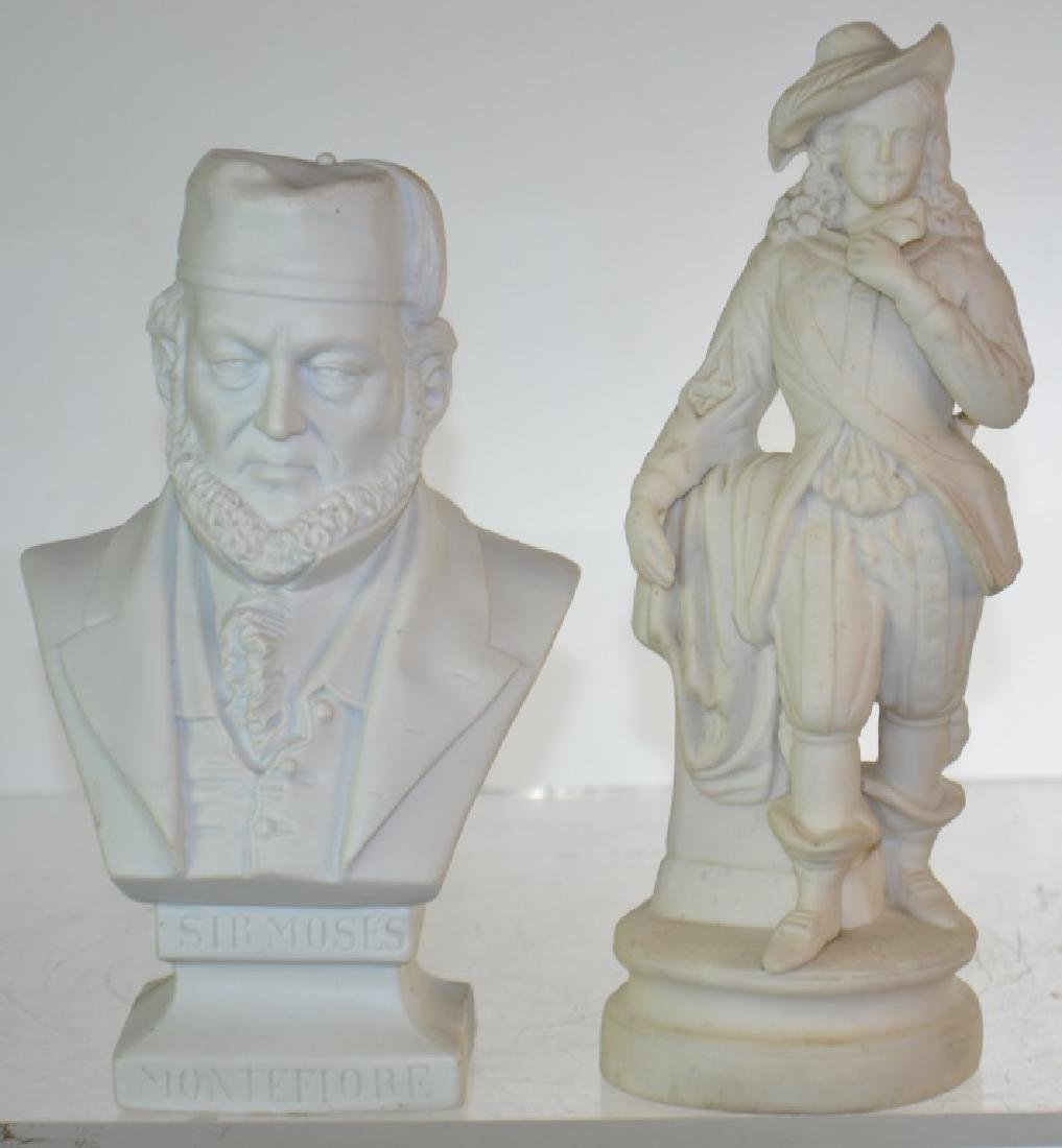 Two Bisque Figures