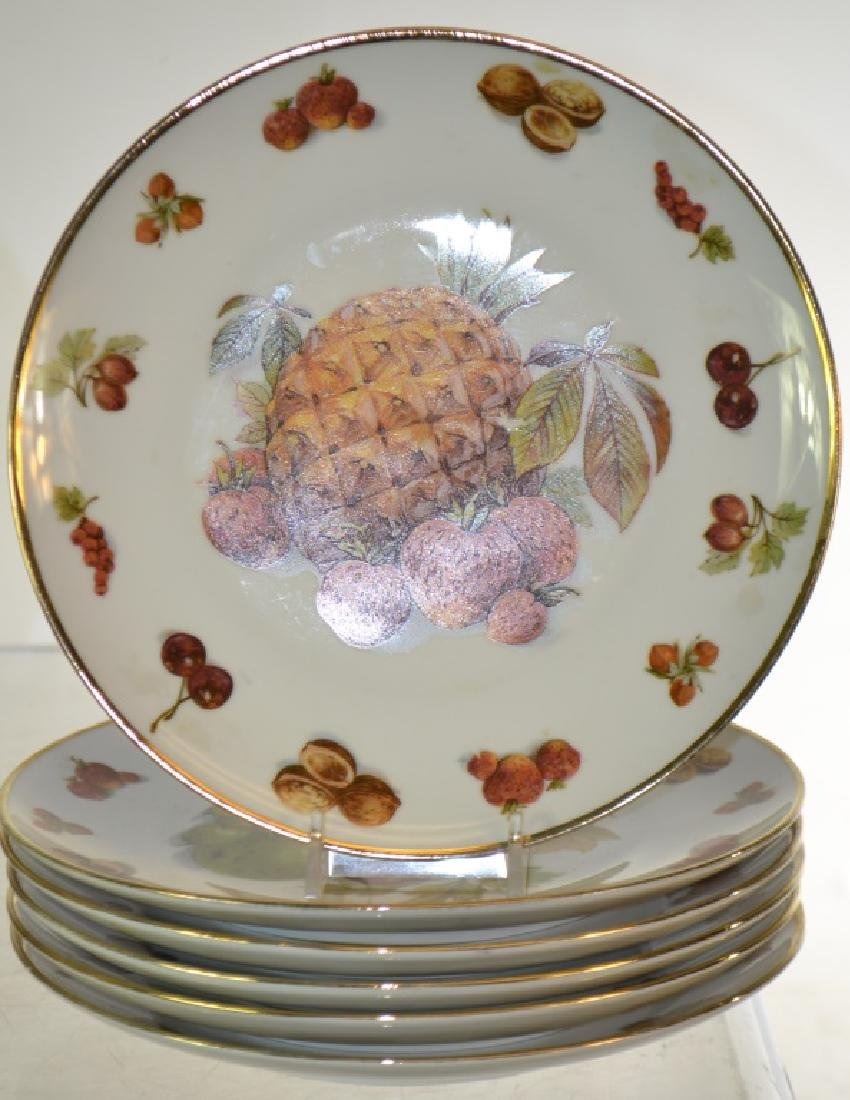 Set of Twelve Royal Hanover Fruit Plates - 2