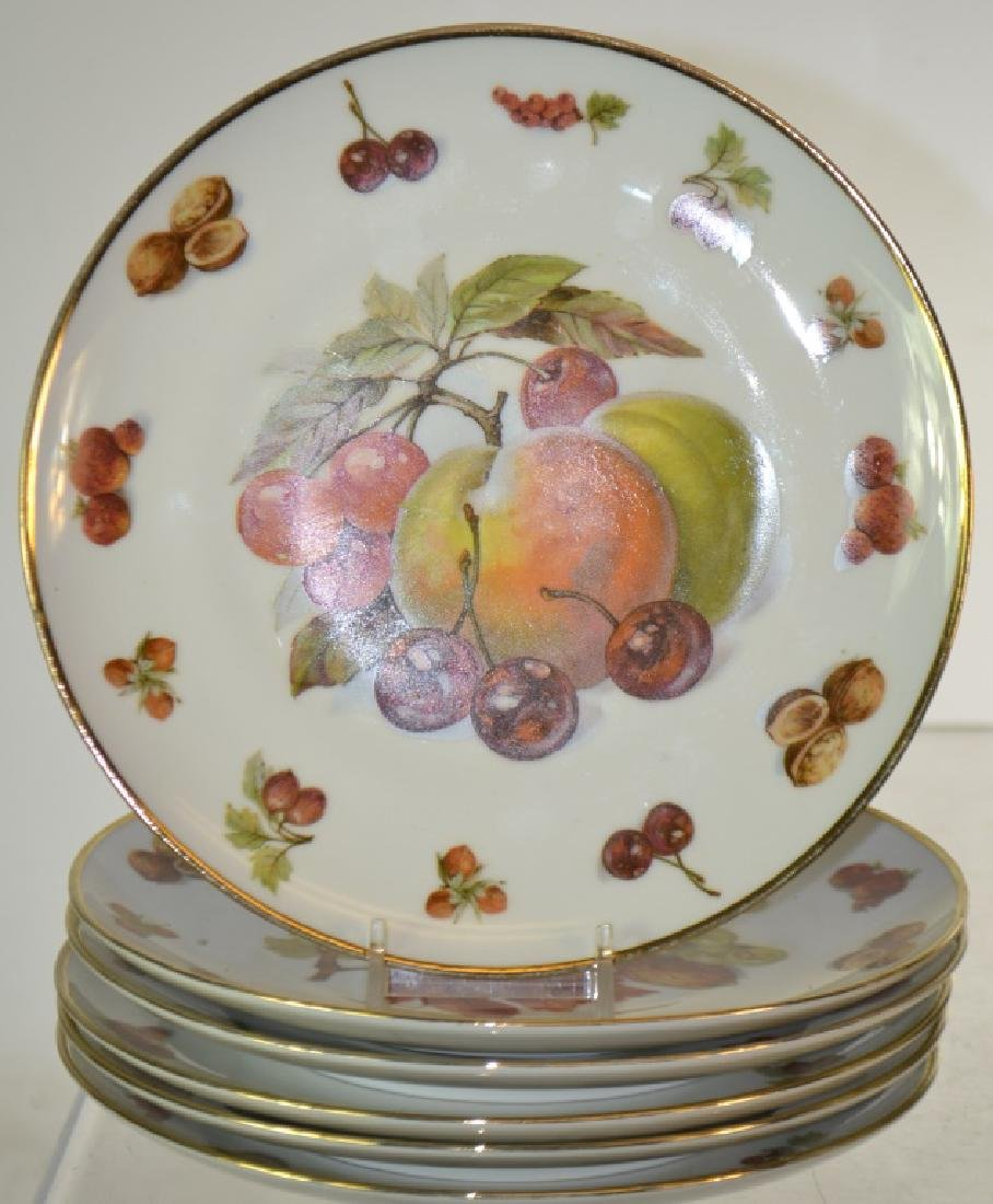 Set of Twelve Royal Hanover Fruit Plates - 3