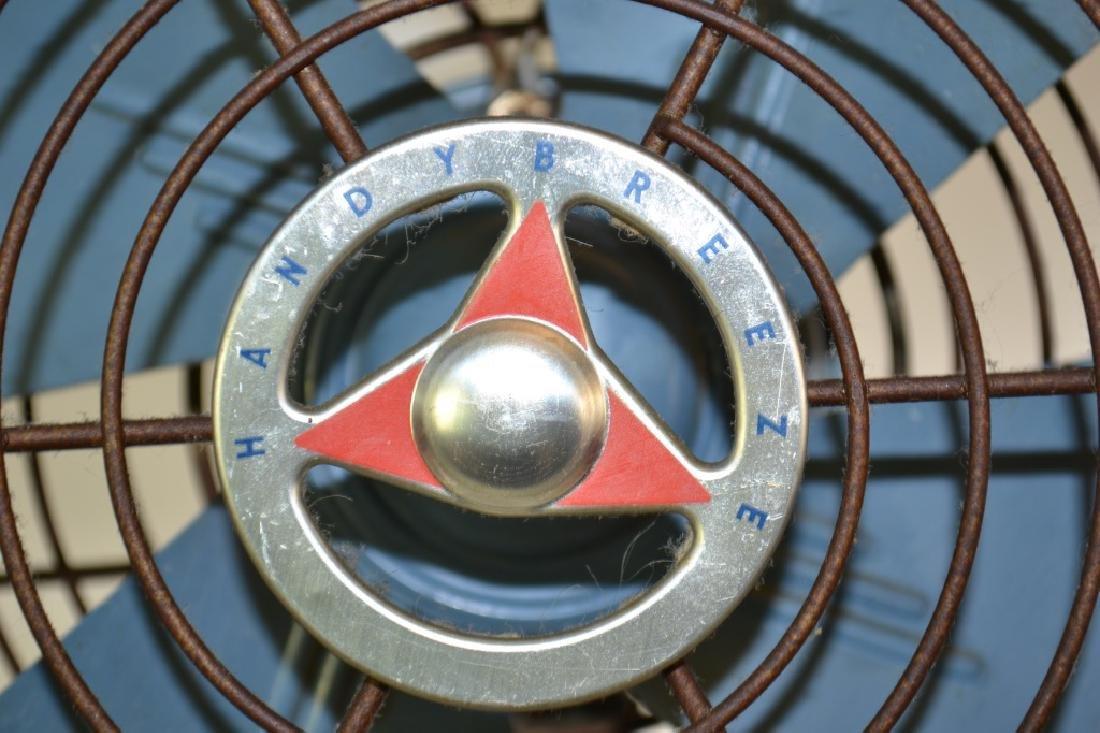 """Vintage """"Handy Breeze"""" Electric Fan - 2"""
