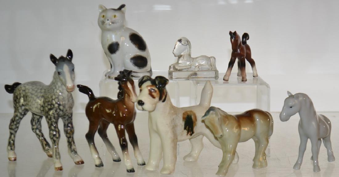 Porcelain Animal Grouping