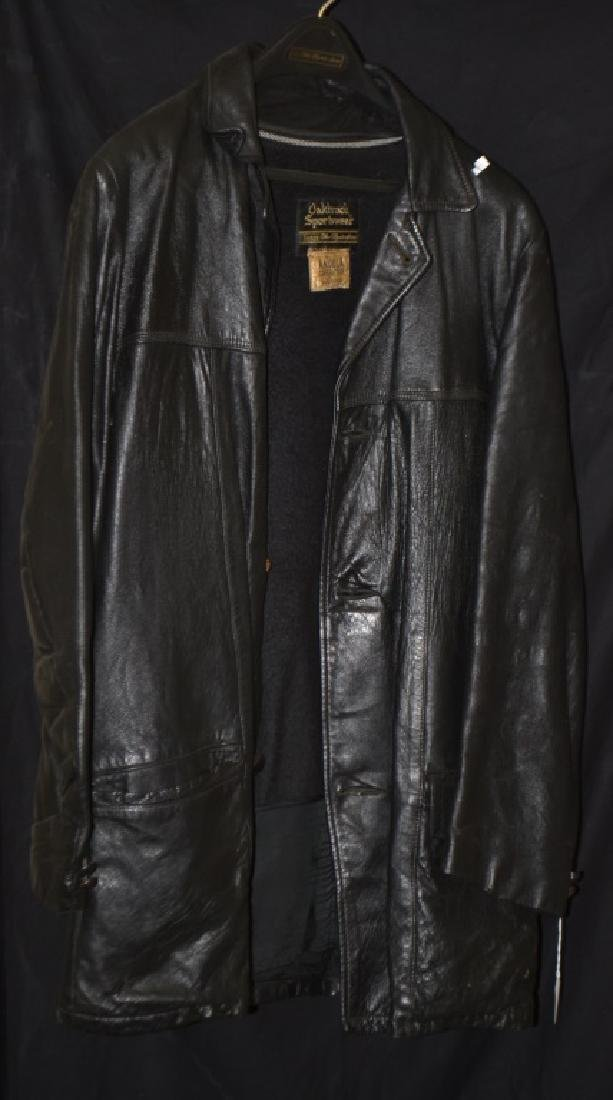 Two Men's Leather Jackets
