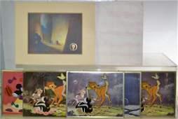 Walt Disney Framed Items