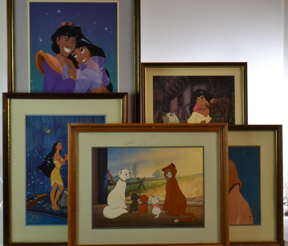 Walt Disney Framed Lithographs