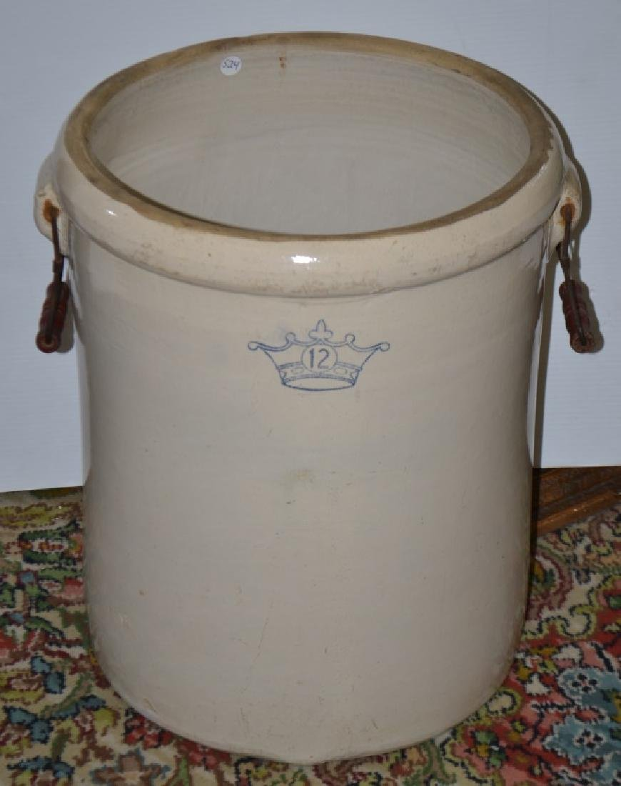12 Gallon Crock with Handles