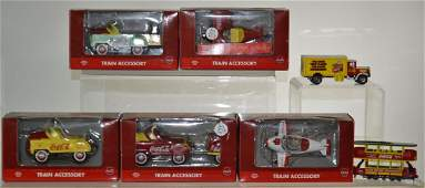 Die Cast Coca Cola Grouping