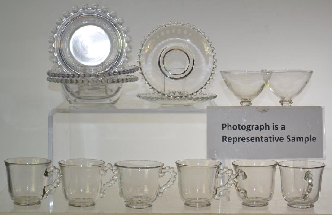 Large Grouping of Candlewick Glass Wear