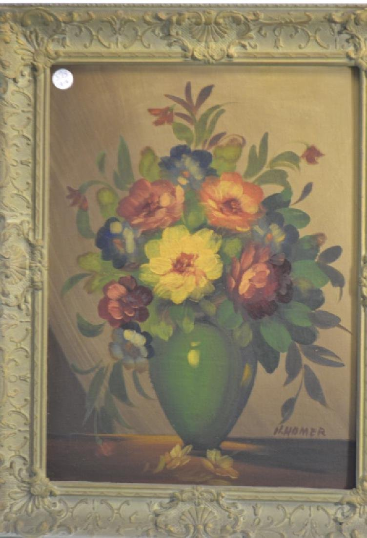 Two Signed Still Life Paintings - 2