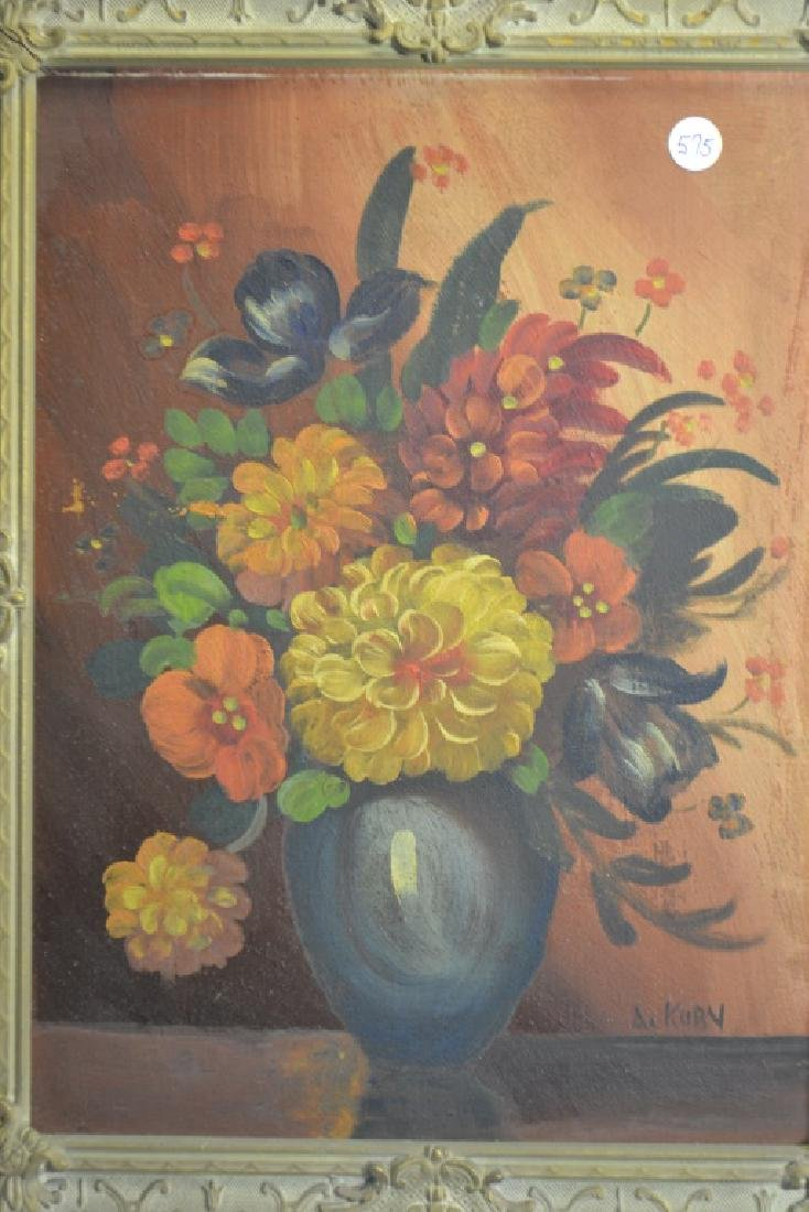 Two Signed Still Life Paintings - 4