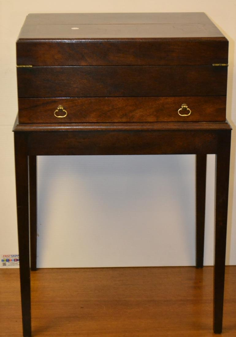 Fold Away Writing Desk on Stand