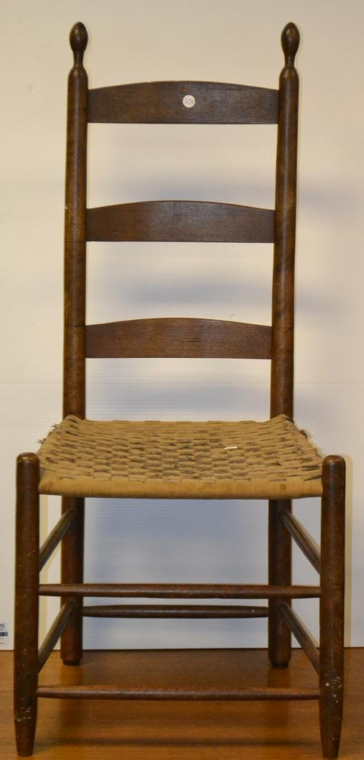 Rare Shaker Chair with Rollers